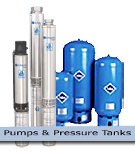 Pumps & Pressure Tanks - coming soon!